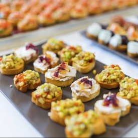 Catering services category production guide support services