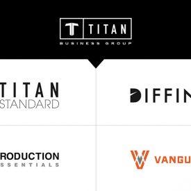 Titan Business Group logos
