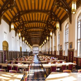 Featured Location September 2017 University of Oklahoma Bizzell Library