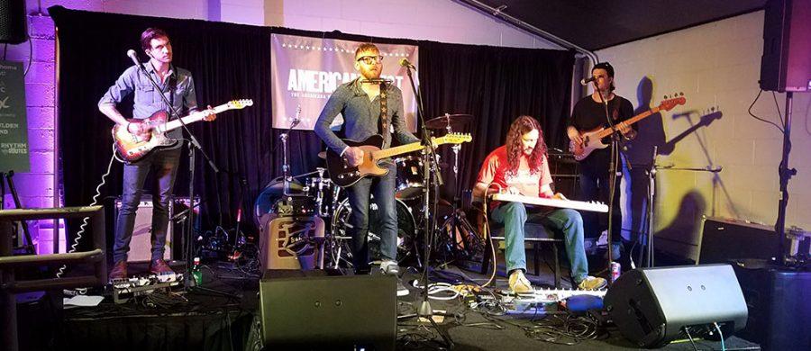 Travis Linville at Okie Roundup Nashville 2017