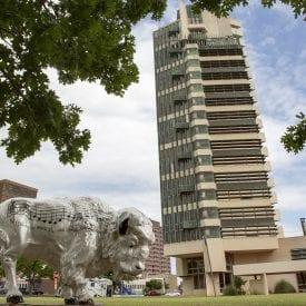 Price Tower in Bartlesville Oklahoma